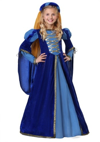 Disfraz de reina renacentista para niña