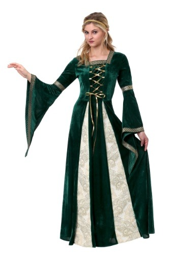 Disfraz de doncella del Renacimiento para mujer