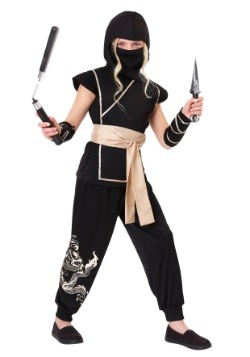 Disfraz de ninja guardiana de niña
