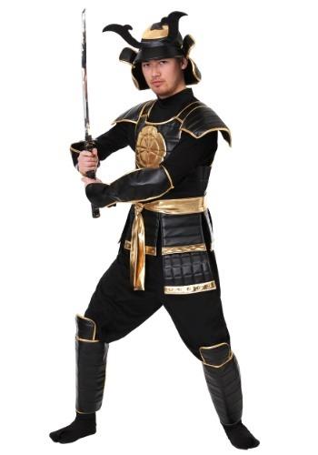 Disfraz de guerrero samurai imperial para hombre