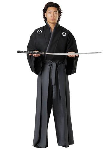 Set de disfraz de Kimono clásico para hombre