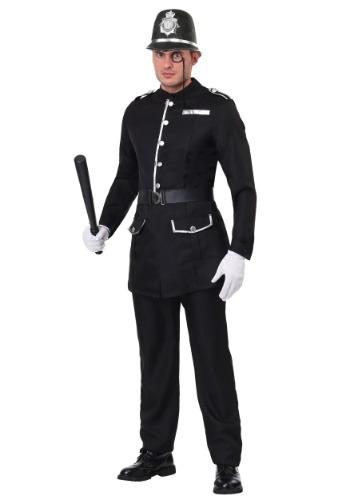Disfraz de bobby británico para hombre