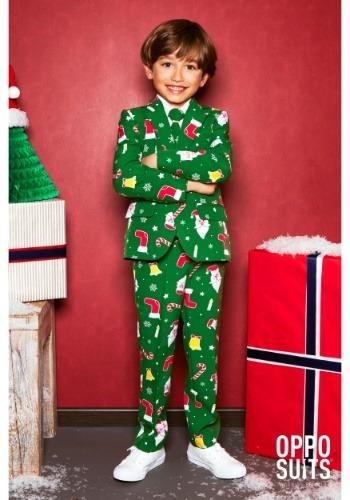 Opposuit de jefe Santa para niño