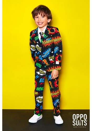 Disfraz Opposuit Badaboom para niño