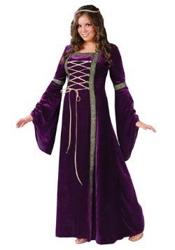 Disfraz de mujer renacentista talla extra