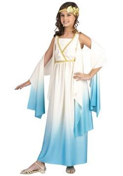 Disfraz de diosa griega infantil