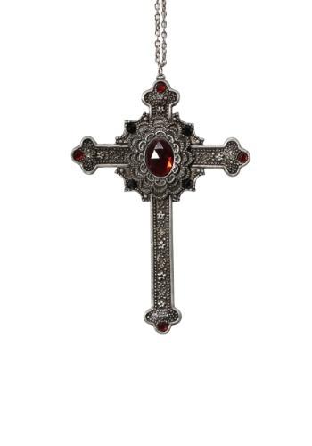 Collar cruzado gótico