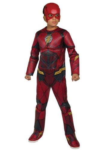 Disfraz de Flash deluxe de la Liga de la Justicia para niño