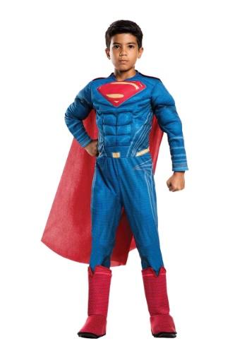 Disfraz Superman Deluxe de la Liga de la Justicia para niño