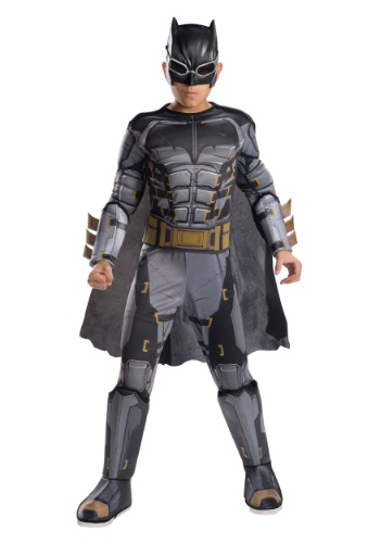 Disfraz táctico Batman deluxe de la Liga de la Justicia niño