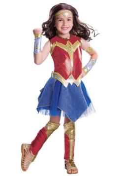 Disfraz Mujer Maravilla deluxe la Liga de la Justicia niña