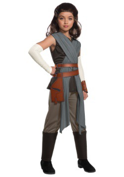 Disfraz infantil deluxe de Rey Star Wars El último Jedi