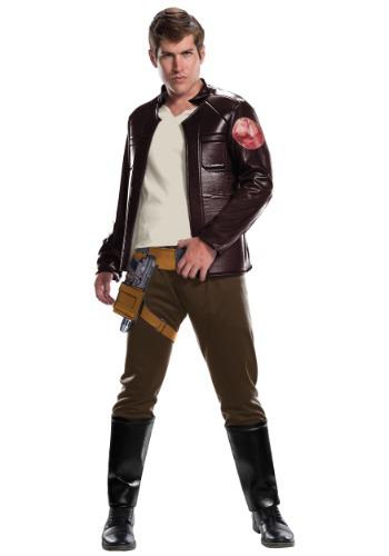 Disfraz Star Wars Los últimos Jedi Deluxe Poe Dameron adulto