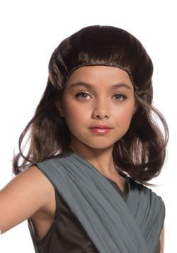 Peluca infantil de Rey de Star Wars: El último Jedi