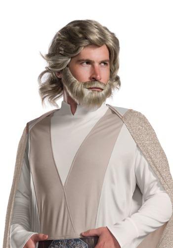 Peluca y barba de Luke Skywalker de Los últimos Jedi