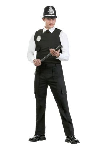 Disfraz Bobby británico moderno para hombre