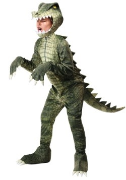 Disfraz de cocodrilo peligroso para niños