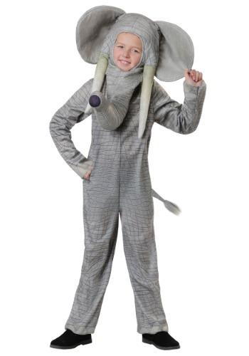 Disfraz de elefante realista para niños