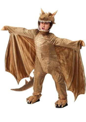 Disfraz de dragón de fantasía infantil