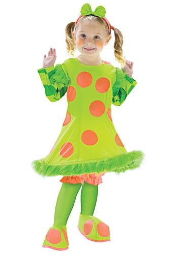 Disfraz de payaso Lolli para niños pequeños