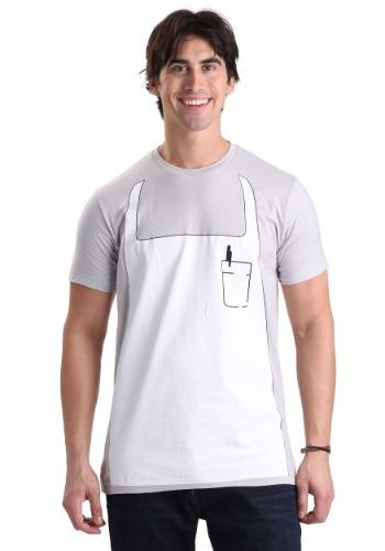 Disfraz camiseta con mandil de Bob de Bob's Burgers
