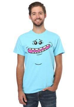 Rick and Morty Meeseeks Face 18/1 camiseta para hombre