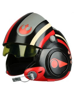 Star Wars Force Awakens Poe Dameron Black Squadron Helmet