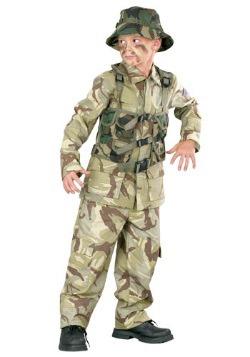 Disfraz infantil Ejército Delta Force