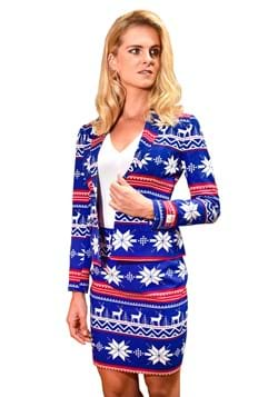OppoSuit de suéter navideño para mujer