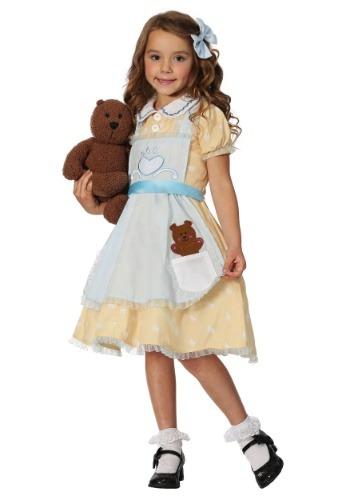 Disfraz de Goldilocks para niñas pequeñas