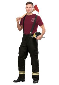 Disfraz de Fire Captain Plus Size para hombre