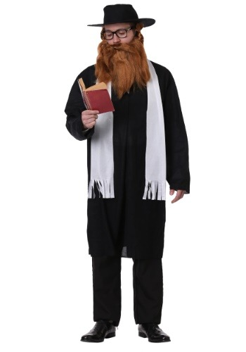 Disfraz de rabino para adulto