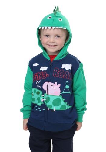 Sudadera con capucha de George Pig Dino-Roar de Peppa Pig