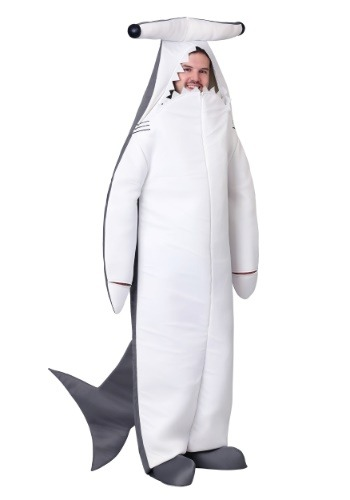 Disfraz de tiburón martillo adulto