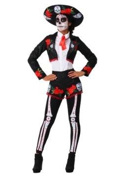 Disfraz de Mariachi del Día de Muertos para mujer