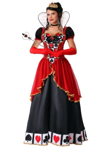Reina Suprema de Corazones con Talla Extra de Mujer