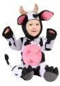 Disfraz de vaca feliz para bebé