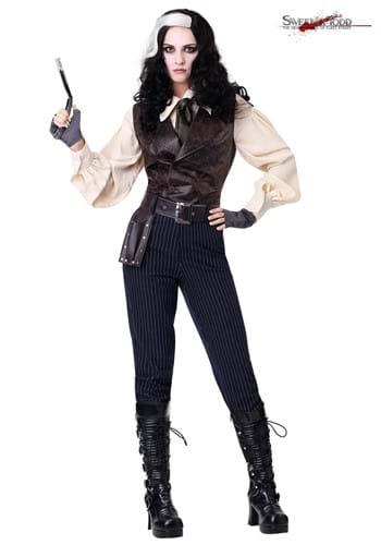 Disfraz de Sweeney Todd para mujer