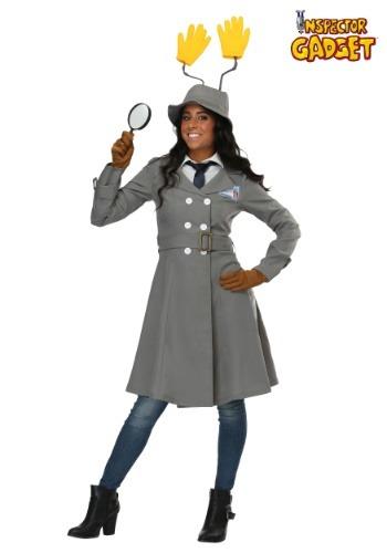 Disfraz de mujer inspector Gadget