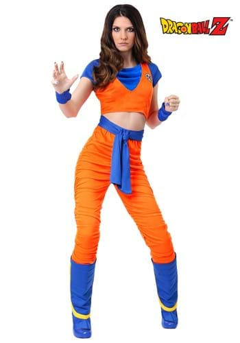 Disfraz de Goku para mujer
