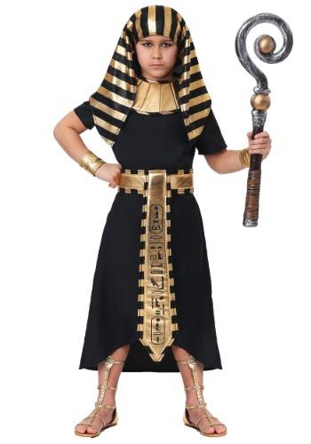 Traje egipcio del faraón del niño