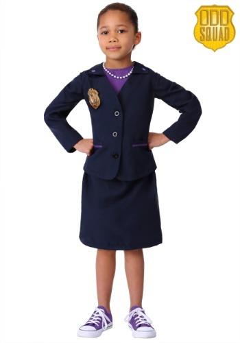 Disfraz de Srta. O. de Odd Squad para niñas