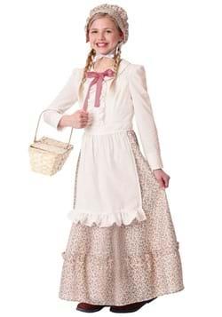 Disfraz para niña de pionera de la pradera