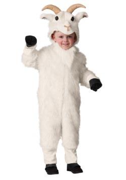 Disfraz de cabra de montaña para niños pequeños