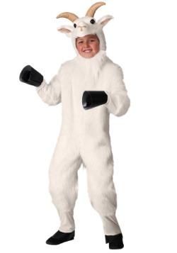 Disfraz de cabra de montaña para niños