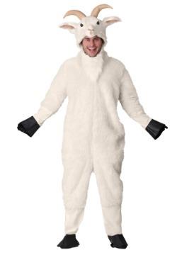 Disfraz de cabra de montaña para adulto