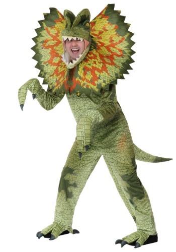 Disfraz de Dilophosaurus adulto