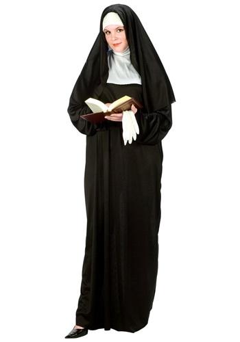 Disfraz de monja talla extra
