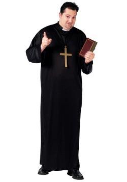 Disfraz de sacerdote talla extra