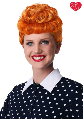 Peluca de I Love Lucy para mujer